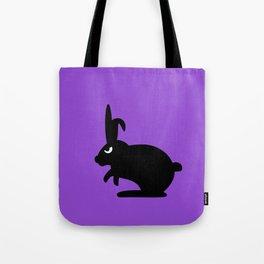 Angry Animals: Bunny Tote Bag