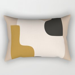 abstract minimal 16 Rectangular Pillow