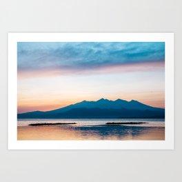 Sunrise in Bali Art Print