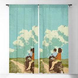 STORM CHASERS Blackout Curtain
