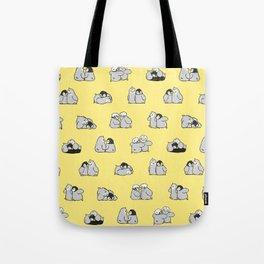 baby penguin print Tote Bag