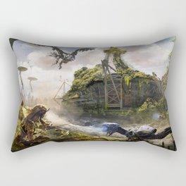 Cardiff [Horizon Zero Dawn] Rectangular Pillow