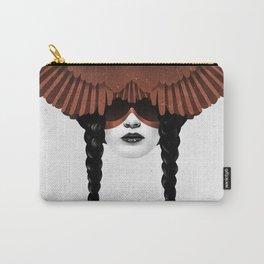 Dark Cardinal Carry-All Pouch