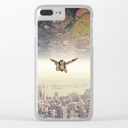Diving to the Parallel Worlds Clear iPhone Case