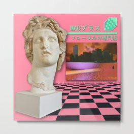 Macintosh Plus – Floral Shoppe Metal Print