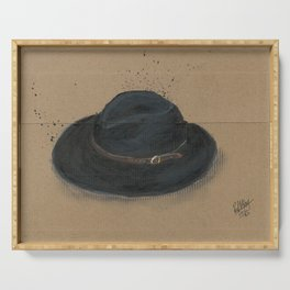 My Fedora is a thing I use to define myself  Serving Tray
