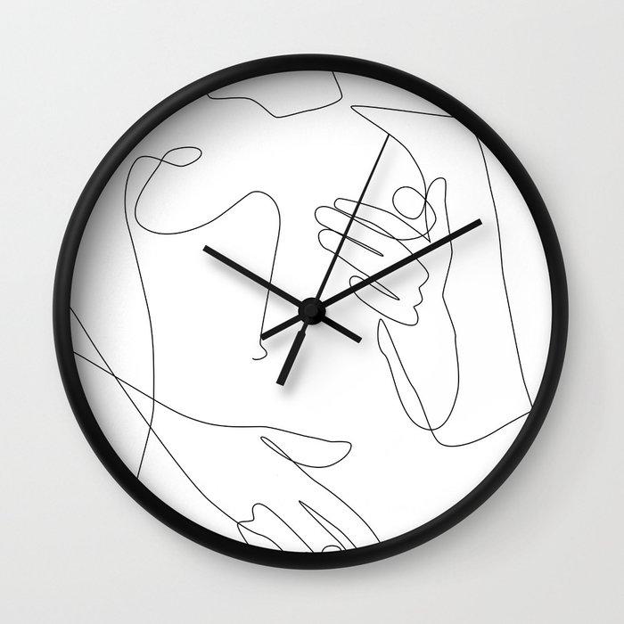 Sensual Erotic Wall Clock by explicitdesign | Society6