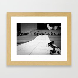 MisTaken Framed Art Print