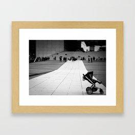 MisTaken Framed Art Print