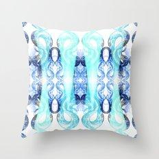 Serpentine Delft Throw Pillow
