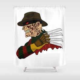Freddy Lives Shower Curtain