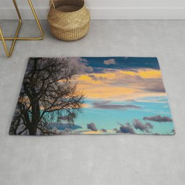 Colorful Colorado Sunset Rug
