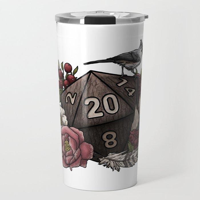 Druid Class D20 - Tabletop Gaming Dice Travel Mug