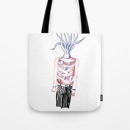 Tentacles head Tote Bag