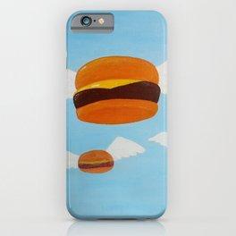 Bob's Flying Burgers iPhone Case
