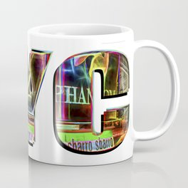 NYC (typography) Coffee Mug