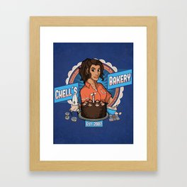 Chell's Bakery Framed Art Print