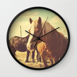 Vintage Feeling Wall Clock