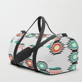 Festive deer pattern Duffle Bag