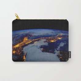 Europe from Space Carry-All Pouch