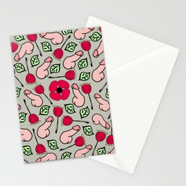 Peckers & Poppies  Stationery Cards
