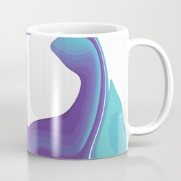 Liquid Marble Purple Shades 010 Coffee Mug