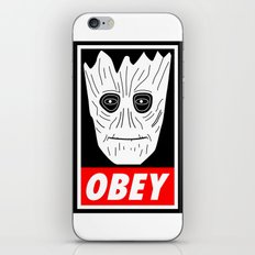 OBEY GROOT - GUARDIANS OF THE GALAXY iPhone & iPod Skin
