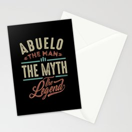 Abuelo The Myth The Legend Stationery Cards