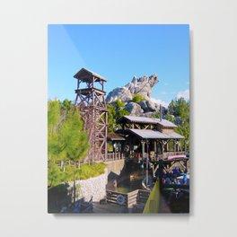 Grizzly Peak River Run Metal Print