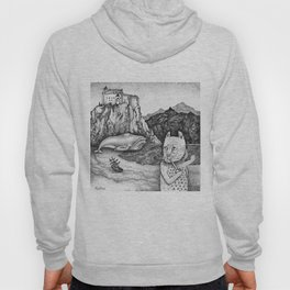 The Whale, The Castle & The Smoking Cat Hoody