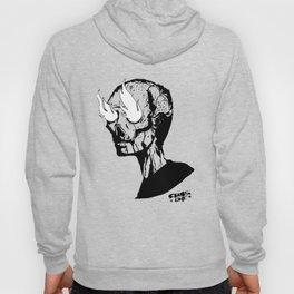 Beelzebub - flame skull Hoody