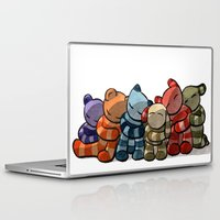 cuddle Laptop & iPad Skins featuring Cuddle by Friederike Ablang