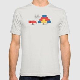 positive blocks... T-shirt