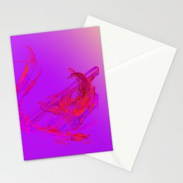 musik  - like a melody Stationery Cards