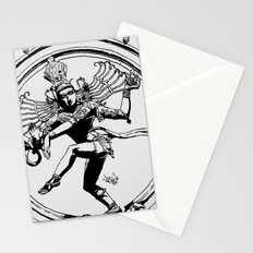Natraj Dance - Mono Stationery Cards