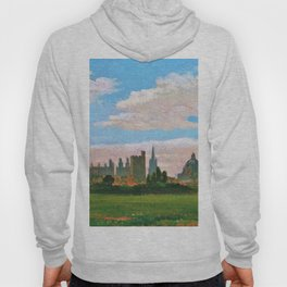 A View Of Oxford - William Turner Hoody
