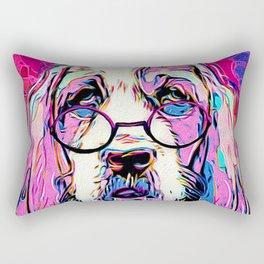 Amused Bassett Rectangular Pillow