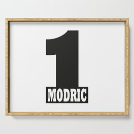 Luka Modric named number 1 of the world Serving Tray