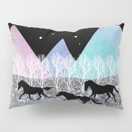Wild Horses Pillow Sham