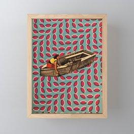 Boat trip Framed Mini Art Print