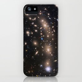 1318. Faint Compact Galaxy in the Early Universe iPhone Case