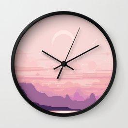 Bay Window V2 Wall Clock