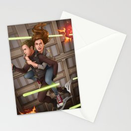 Fitzsimmons - Space Rollerblades Stationery Cards