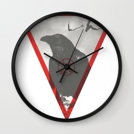 Corvus Wall Clock