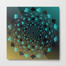 Magic Circle Metal Print