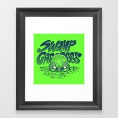 Swamp Gas Framed Art Print