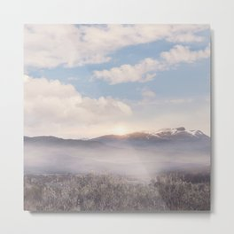 Sunrise v3 Metal Print