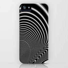 Fractal Op Art 6 iPhone Case