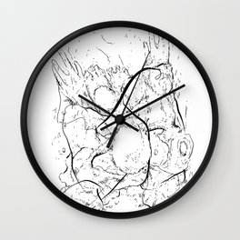 Life is Yesterday Wall Clock
