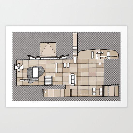 Fachada Art Print